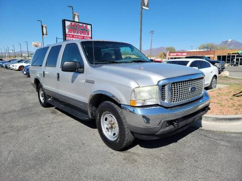 2004 Ford Excursion for sale at ATLAS MOTORS INC in Salt Lake City UT