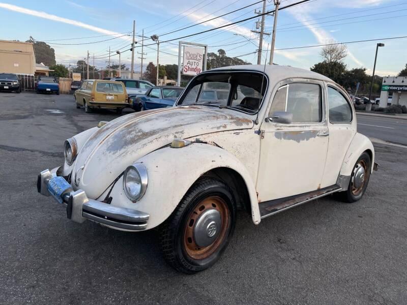 1968 Volkswagen Beetle for sale at Dodi Auto Sales in Monterey CA