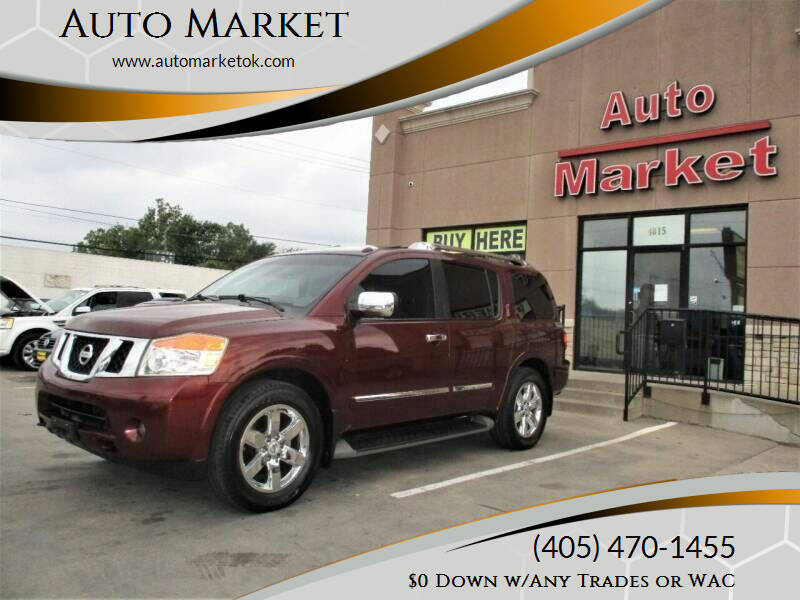 2011 Nissan Armada for sale at Auto Market in Oklahoma City OK