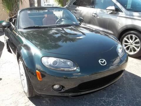 2007 Mazda MX-5 Miata for sale at PJ's Auto World Inc in Clearwater FL