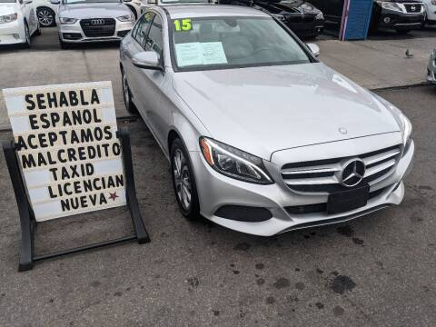 2015 Mercedes-Benz C-Class for sale at Cedano Auto Mall Inc in Bronx NY