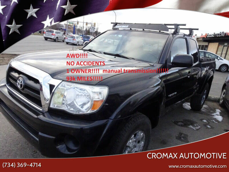 2007 Toyota Tacoma for sale at Cromax Automotive in Ann Arbor MI