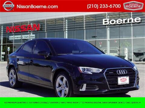 2018 Audi A3 for sale at Nissan of Boerne in Boerne TX