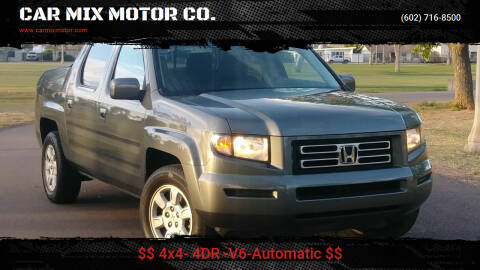 2007 Honda Ridgeline for sale at CAR MIX MOTOR CO. in Phoenix AZ