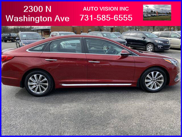2016 Hyundai Sonata for sale at Auto Vision Inc. in Brownsville TN