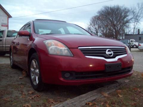 2009 Nissan Altima for sale at Frank Coffey in Milford NH
