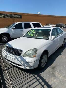 2001 Lexus LS 430 for sale at Los Primos Auto Plaza in Antioch CA