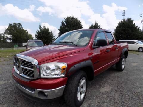 2008 Dodge Ram Pickup 1500 for sale at PERUVIAN MOTORS SALES in Warrenton VA