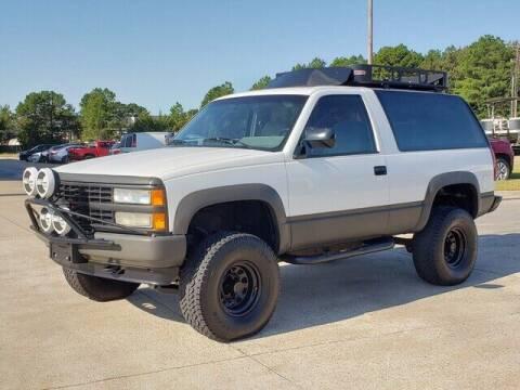 1992 Chevrolet Blazer for sale at Tyler Car  & Truck Center in Tyler TX