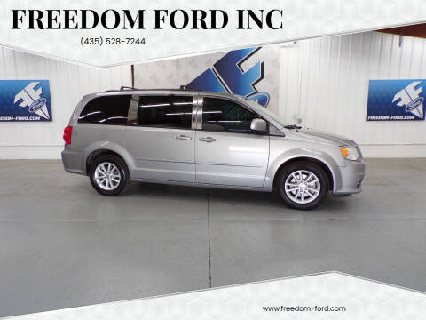 2016 Dodge Grand Caravan for sale at Freedom Ford Inc in Gunnison UT