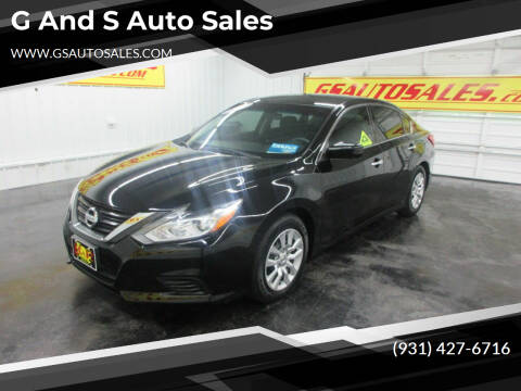 2016 Nissan Altima for sale at G and S Auto Sales in Ardmore TN