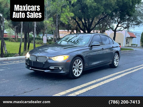 2012 BMW 3 Series for sale at Maxicars Auto Sales in West Park FL