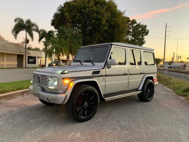 2008 Mercedes-Benz G-Class for sale at Hard Rock Motors in Hollywood FL