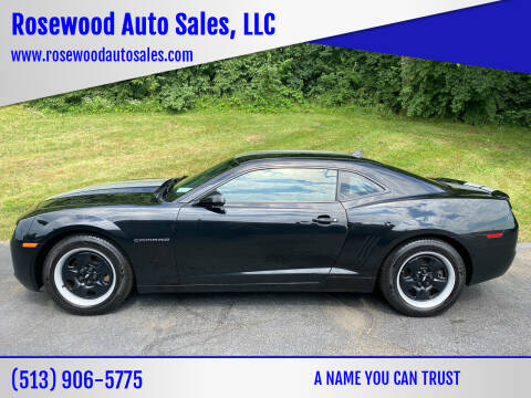 2012 Chevrolet Camaro for sale at Rosewood Auto Sales, LLC in Hamilton OH