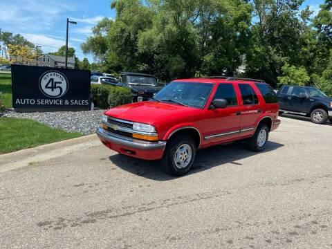 1999 Chevrolet Blazer for sale at Station 45 Auto Sales Inc in Allendale MI