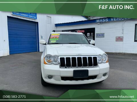2010 Jeep Grand Cherokee for sale at F&F Auto Inc. in West Bridgewater MA