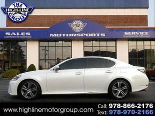 2018 Lexus GS 350 for sale at Highline Group Motorsports in Lowell MA