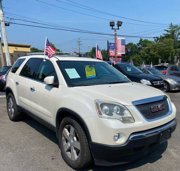 2011 GMC Acadia for sale at Primary Motors Inc in Commack NY