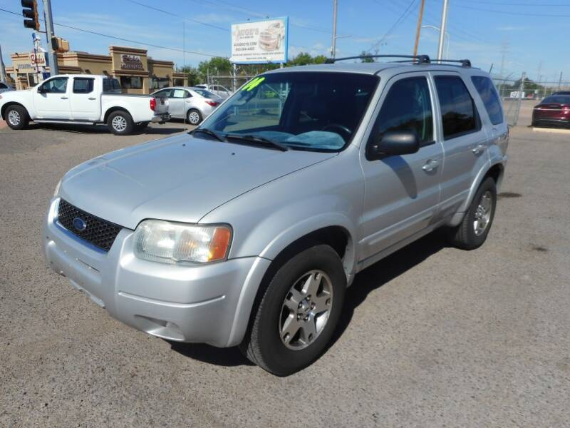 2004 Ford Escape for sale at AUGE'S SALES AND SERVICE in Belen NM