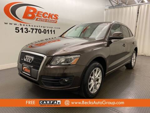 2011 Audi Q5 for sale at Becks Auto Group in Mason OH