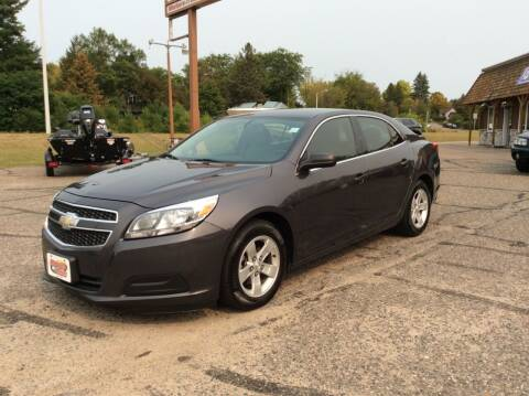 2013 Chevrolet Malibu for sale at MOTORS N MORE in Brainerd MN