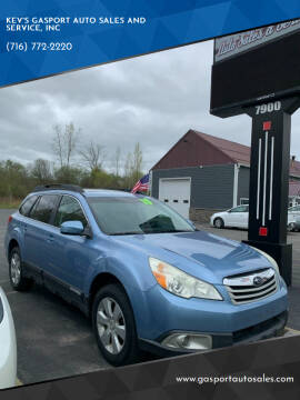2010 Subaru Outback for sale at KEV'S GASPORT AUTO SALES AND SERVICE, INC in Gasport NY