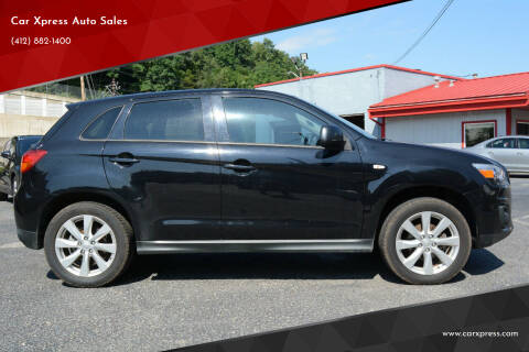 2015 Mitsubishi Outlander Sport for sale at Car Xpress Auto Sales in Pittsburgh PA