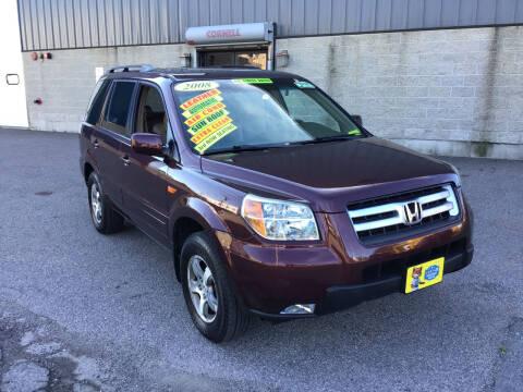 2008 Honda Pilot for sale at Adams Street Motor Company LLC in Boston MA