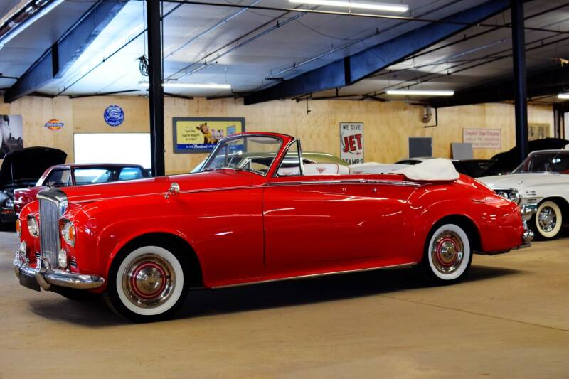 1963 Bentley Drophead Coupe for sale at Hooked On Classics in Watertown MN