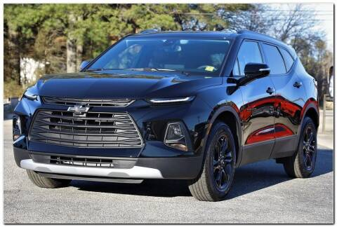 2021 Chevrolet Blazer for sale at STRICKLAND AUTO GROUP INC in Ahoskie NC