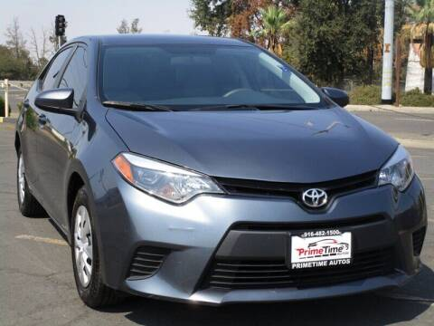 2016 Toyota Corolla for sale at PRIMETIME AUTOS in Sacramento CA