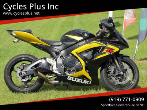 2006 Suzuki GSXR 750 for sale at Cycles Plus Inc in Garner NC