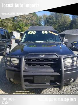 2004 Nissan Xterra for sale at Locust Auto Imports in Locust NC