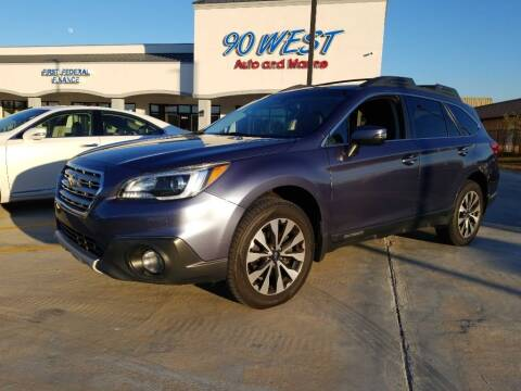 2016 Subaru Outback for sale at 90 West Auto & Marine Inc in Mobile AL