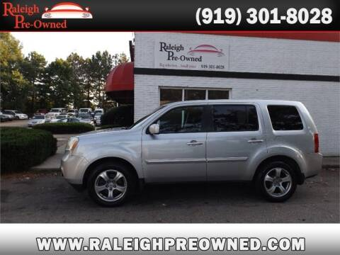 2012 Honda Pilot for sale at Raleigh Pre-Owned in Raleigh NC