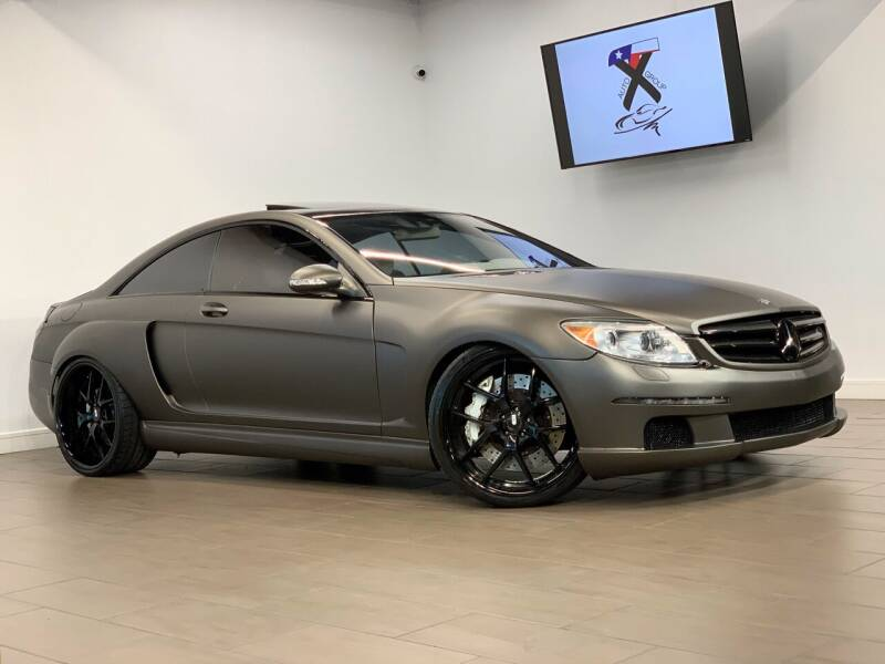 2007 Mercedes-Benz CL-Class for sale at TX Auto Group in Houston TX