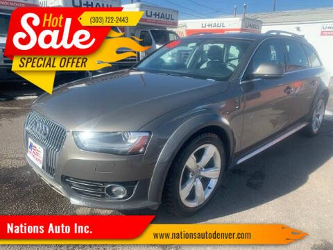 2014 Audi Allroad for sale at Nations Auto Inc. in Denver CO