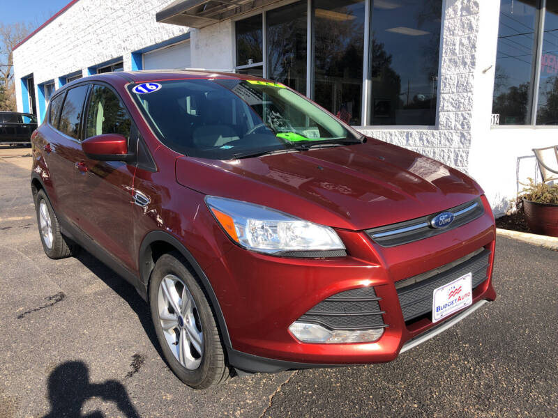 2016 Ford Escape for sale at Budget Auto in Appleton WI