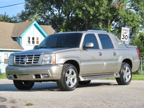 2003 Cadillac Escalade EXT for sale at Tonys Pre Owned Auto Sales in Kokomo IN