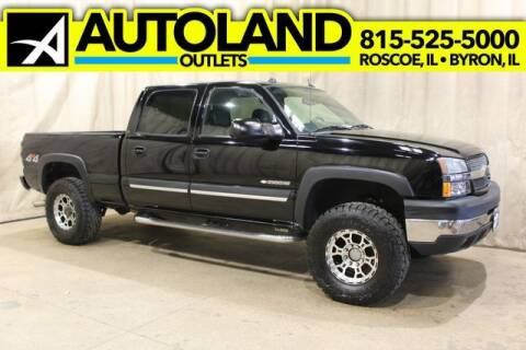 2004 Chevrolet Silverado 2500HD for sale at AutoLand Outlets Inc in Roscoe IL