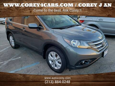 2013 Honda CR-V for sale at WWW.COREY4CARS.COM / COREY J AN in Los Angeles CA