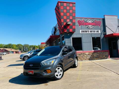 2017 Ford Escape for sale at Chema's Autos & Tires in Tyler TX