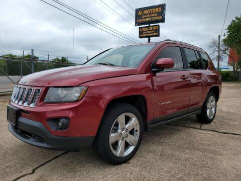 2014 Jeep Compass for sale at AI MOTORS LLC in Killeen TX