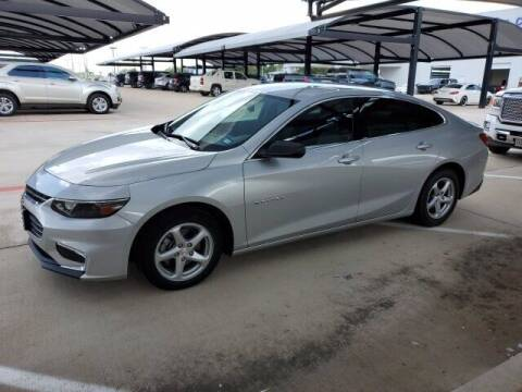 2016 Chevrolet Malibu for sale at Jerry's Buick GMC in Weatherford TX