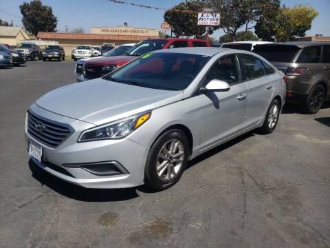 2016 Hyundai Sonata for sale at L & M MOTORS in Santa Maria CA