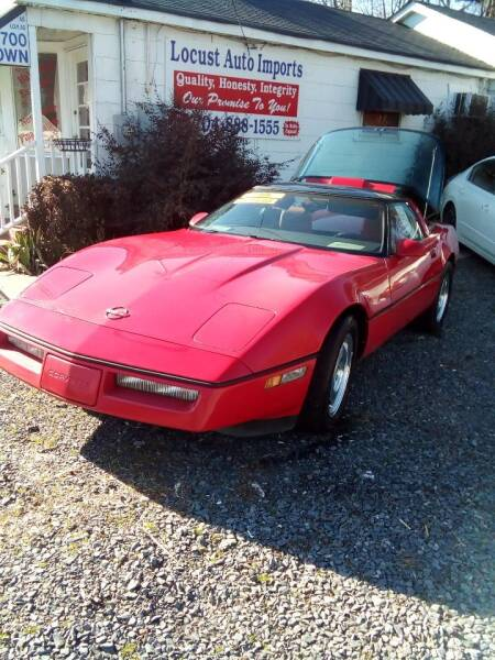 1988 Chevrolet Corvette for sale at Locust Auto Imports in Locust NC