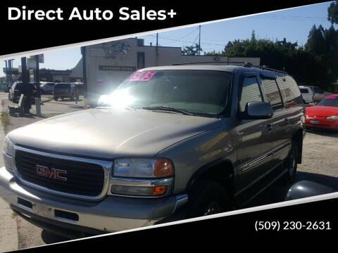 2001 GMC Yukon XL for sale at Direct Auto Sales+ in Spokane Valley WA