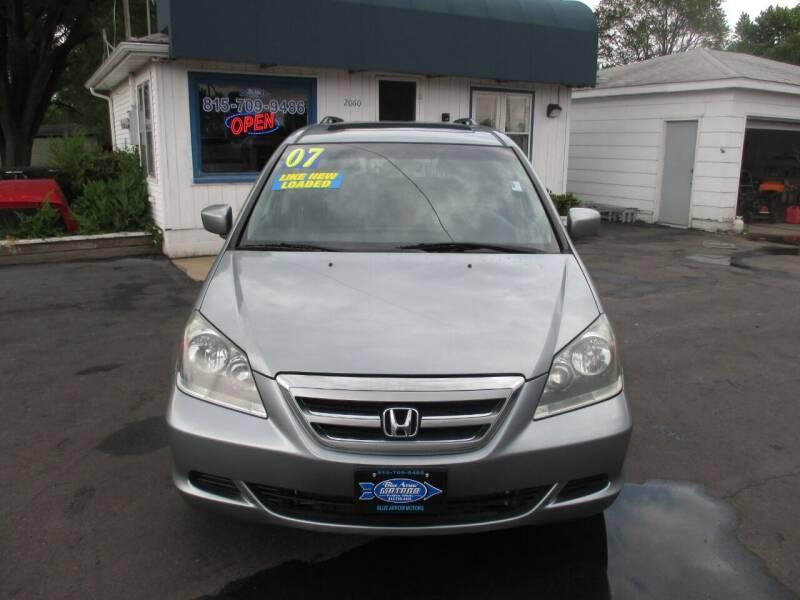 2007 Honda Odyssey for sale at Blue Arrow Motors in Coal City IL
