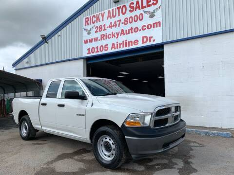 2009 Dodge Ram Pickup 1500 for sale at Ricky Auto Sales in Houston TX