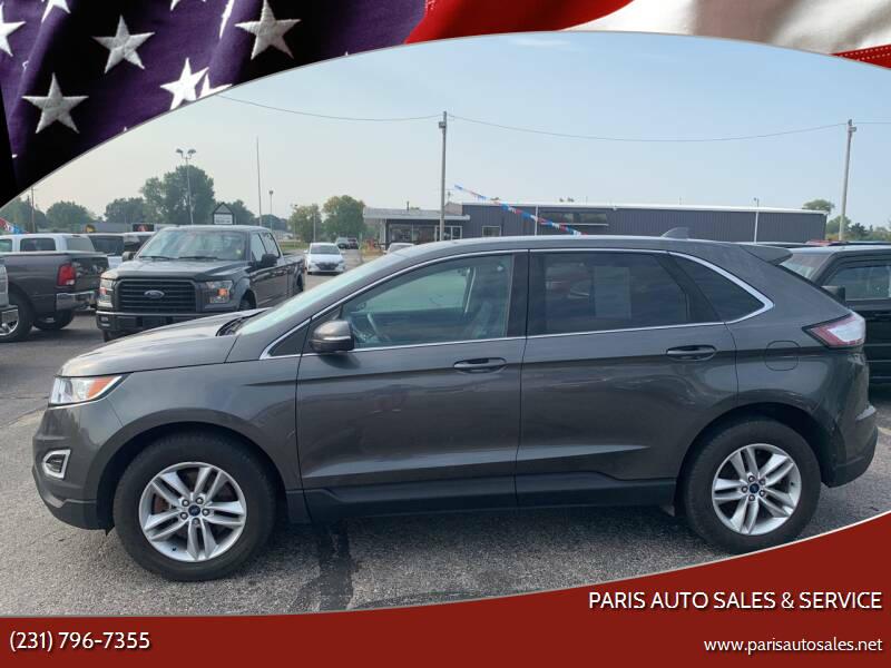 2017 Ford Edge for sale at Paris Auto Sales & Service in Big Rapids MI